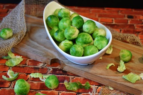 top 5 fall superfoods - Brussels sprouts