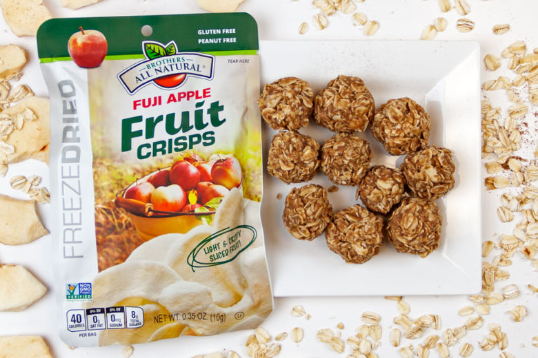 Apple Pie Bites Made With Freeze Dried Apples