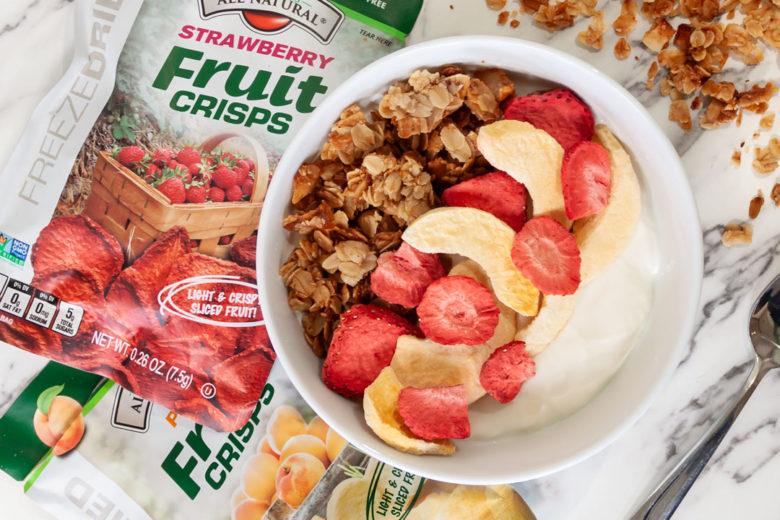 Breakfast Yogurt Bowl With Homemade Granola